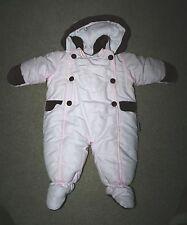 Girl's London Fog Snowsuit 3-6 months Pink NEAR MINT! INFANT