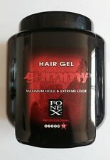 FONEX Gummy Hair Gel - Maximum Hold & Extreme Look 32 oz