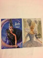 Lot De 2 Catalogue Barbie De Collection 1997 1998 Catalogue Mattel