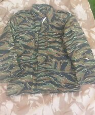 M65 US COMBAT JACKET QUILTED LINER  MILITARY ARMY  COAT CAMO TIGER STRIPE xl