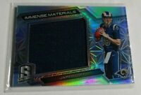 JARED GOFF - 2016 PANINI SPECTRA - IMMENSE MATERIALS - ROOKIE JERSEY - #81/199