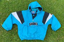 Vintage Starter San Jose Sharks Puffer Jacket Size Men's XL Vintage 90s Pullover