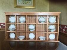 Tea Rack and Saucer Rack Large Wall Hanging or Counter Sitting