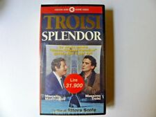 VIDEOCASSETTA VHS CASSETTE CECCHI GORI HOME VIDEO TROISI SPLENDOR
