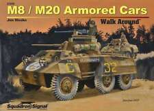 M8 / M20 Greyhound Armored Cars Walk Around (Squadron Signal 27030)
