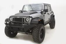 AVS for 07-18 Jeep Wrangler (2 Door) Ventvisor & Aeroskin Deflector Combo Kit -