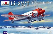 LISUNOV LI-2V/T SOVIET POLAR AIRCRAFT 1/72 AMODEL 72234