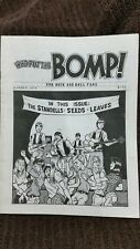 WHO PUT THE BOMP! MAGAZINE  STANDELLS SEEDS LEAVES RUNAWAYS SUMMER 1974 RARE!!!