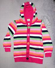 Mädchen Sweatjacke, pink grau, Gr. 116, Topolino: Amazon