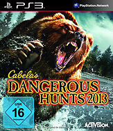 CABELAS DANGEROUS HUNTS 2013 per PlayStation 3 ps3 | Nuovo | tedesco completo!