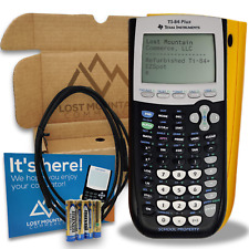 Ti-84 Plus Graphing Calculator by Texas Instruments - Yellow School Edition