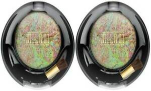 (LOT OF 2) Milani Baked Eyeshadow #618 GREEN FORTUNE 0.05 oz./1.5g