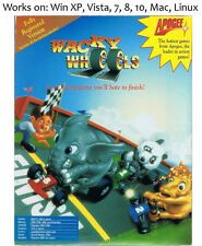Wacky Wheels 1994 PC Mac Linux Game