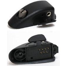 Audio Earpiece Adaptor for Motorola Radio GP328 GP340 HT1250 GP760 2 PIN M