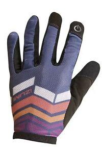 Pearl Izumi 2016 Women's Divide Full Finger MTB Gloves Deep Indigo XL Bike
