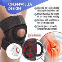 Adjustable Knee Support Patella Brace Meniscus Tear Arthritis Pain Stabilizers A