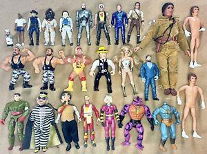 Vintage Figure Lot MOTU Wrestling Cops Crooks Tonto Ghostbusters McDonalds Toy
