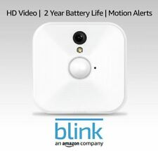 Blink Wireless Indoor Home Security Camera White Add-on Camera Bcm00100U