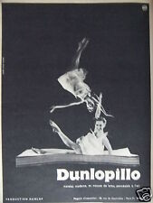 PUBLICITÉ 1958 DUNLOPILLO MATELAS MODERNE - ADVERTISING