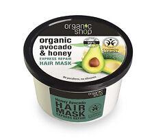 ORGANIC SHOP Avocado & Honey Express Repair Hair Mask 250ml 8.5 fl oz