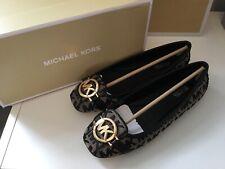 Michael Kors Fulton  Logo Jacquard Flat Pump Shoes  BNIB SZ Uk 5 US 7
