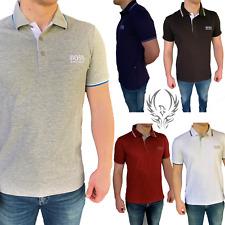 Hugo Boss Polo Shirt Herren Polohemd 5 Farben Regular Fit Paddy Pro NEU