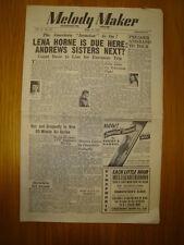 MELODY MAKER 1947 #715 JAZZ SWING LENA HORNE SKYROCKETS