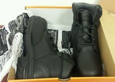 """Men's Timberland Pro Helix 6"""" Waterproof Composite Safety Toe Boots Black 87517"""