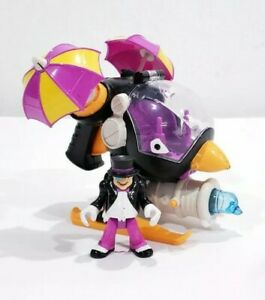 Imaginext DC Super Friends Penguin Helicopter Copter Ice Projectile COMPLETE