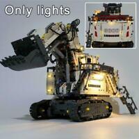 LED Light Up Kit For LEGO 42100 Technic Liebherr R Excavator Lighting Set Z4X4