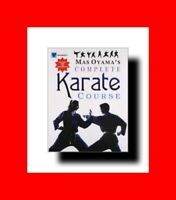 RARE MARTIAL ARTS BOOK:MAS OYAMAS'S COMPLETE KYOKUSHIN KARATE COURSE%PUNCH+KICK+