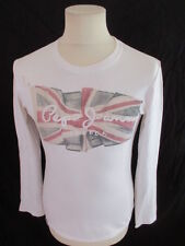 T-shirt Pepe Jeans  Blanc Taille S à - 53%
