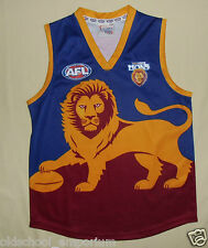 Brisbane Lions (AFL) / SEKEM - JUNIOR official sleeveless Shirt / Top. Size: 12