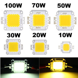 10W20W30W50W70W 100W 1-5 pcs LED SMD Chip Bulb Bead  High Power for Flood Light