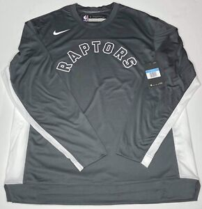 Nike Toronto Raptors Warm Up Shooting Shirt LS Men's M Player Issued NBA