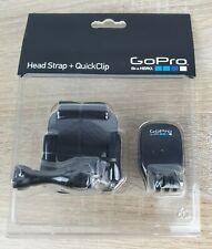 Go Pro Headstrap + Quick Clip - Genuine GoPro