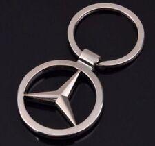 Mercedes Benz Metal car styling key ring key chain fob holder car accessories
