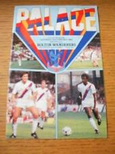 23/01/1982 Crystal Palace v Bolton Wanderers [FA Cup] (Team Changes). No obvious