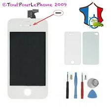 ECRAN LCD+TACTILE+SUPPORT ASSEMBLE POUR IPHONE 4S BLANC+ KIT OUTILS + FILM