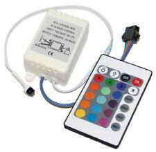 """RGB LED Unità di Controllo Controller Tipo Spina """" B """" Telecomando 12V"""