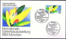 BRD 1983: IGA München! FDC Nr. 1174 mit sauberen Bonner Sonderstempeln! 1A! 154