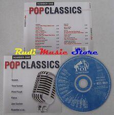 CD POP CLASSICS QUEEN PINK FLOYD DAVID BOWIE REM TALK TALK 1997 no mc lp (c20)