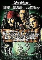 Pirates Of The Caribbean - Dead Man's Chest (DVD, 2006) Johnny Dep 2disk special