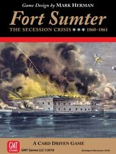 FORT SUMTER: GMT Card Driven Game from GMT Games NEW in Original Shrinkwrap