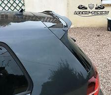 VW GOLF VII 7 R 2012+ Heckspoiler Spoiler Ansatz Lasche Dachspoiler GTI schwarz