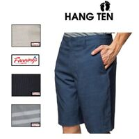 NEW Mens HANG TEN Light Weight Quick Dry Cruze Walk Shorts VARIETY COLORS / SIZE
