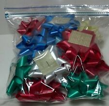"Bag of ""Bakers Dozen"" (13) Gift bows multiple colors"