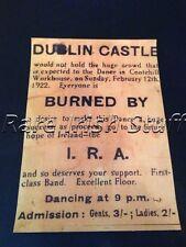 1922 IRA Funding Dance,Cootehill Workhouse, Carlow, Ireland - Irish Print