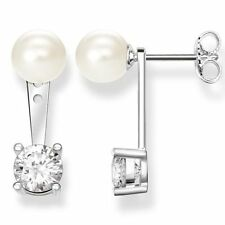 Pearl Cubic Zirconia Fashion Earrings