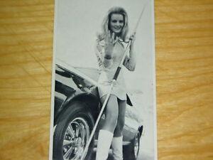 1968 AMC JAVELIN SST ORIGINAL CRAGAR SS WHEEL AD *amx/390/decal/grille/emblem/69